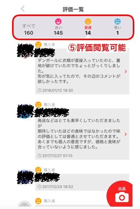 メルカリ コメント 返信 の 仕方