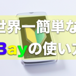 英語は苦手で大丈夫!世界一簡単なeBayの使い方〜購入&出品編〜